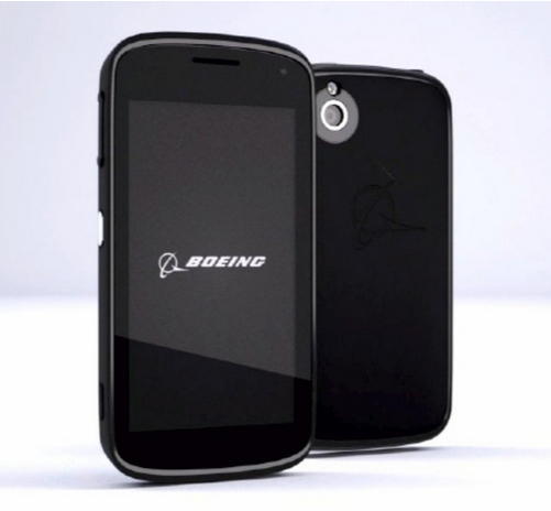 Photo : Boeing Black sous Android