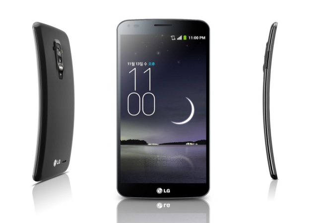 Photo : LG G Flex 2