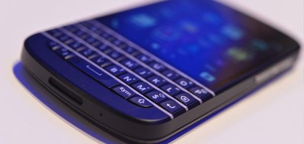 Photo : BlackBerry 10