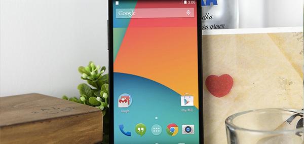 Photo : Nexus 5 sous Lollipop