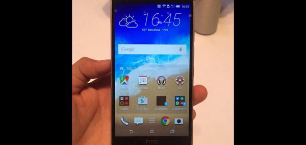 HTC One M9, nouveau smartphone haut de gamme taiwanais...
