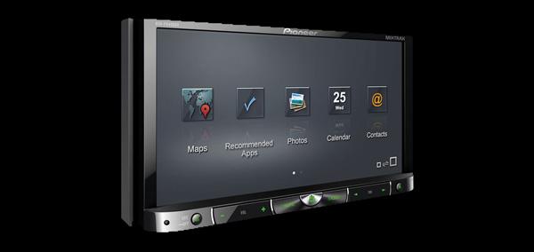 Pionner AVH-4100NEX un des premiers systemes multimedias compatibles Android Auto...