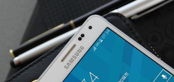 Photo : Samsung Galaxy Alpha