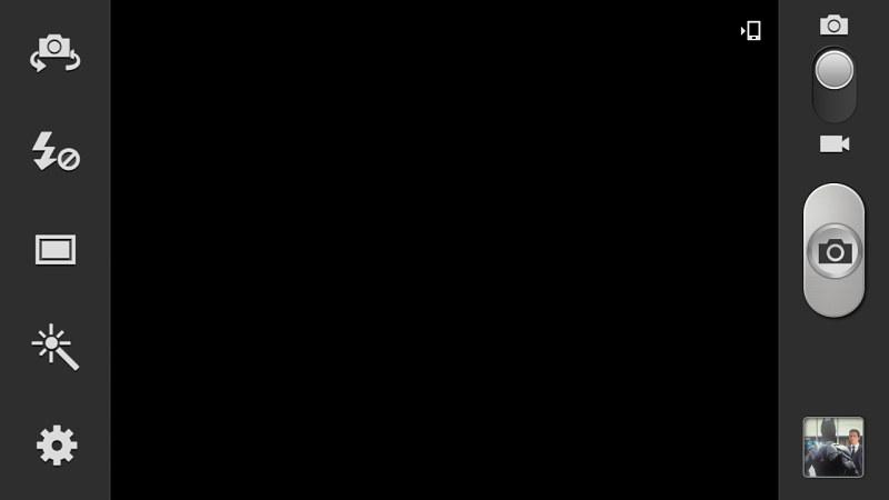 Samsung Galaxy Note 2 interface caméra 1