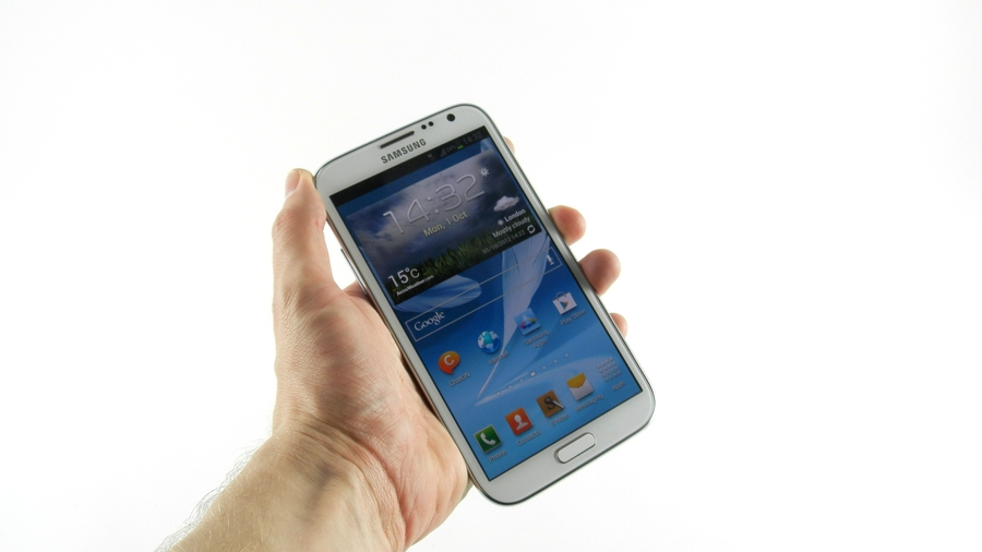 test samsung galaxy note 2 ecran