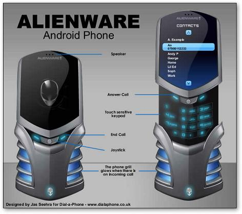 Android Alienware