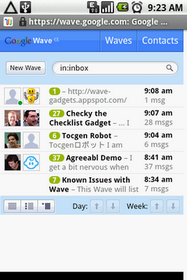 android-google-wave