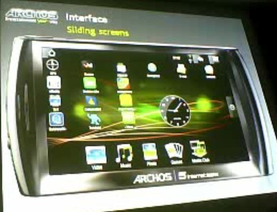 interface-archos-android