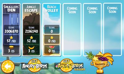 angry birds rio mise jour beach volley avec de nouveaux niveaux disponible sur l 39 android. Black Bedroom Furniture Sets. Home Design Ideas