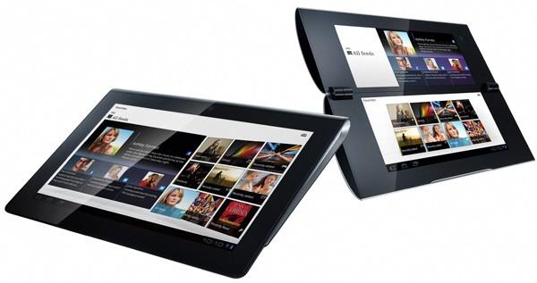 Tablettes Sony Ericsson S1 et S2