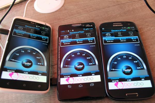 smartphones compatibles 4g sfr