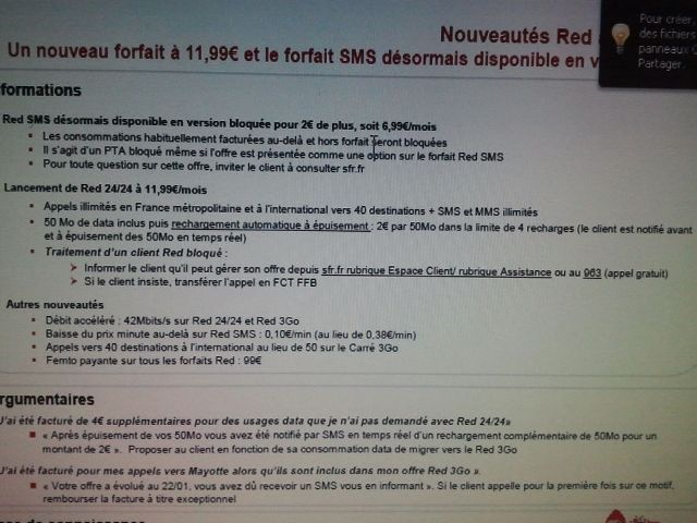note interne sfr red