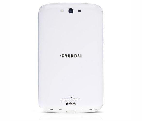 tablette hyundai T7 dos