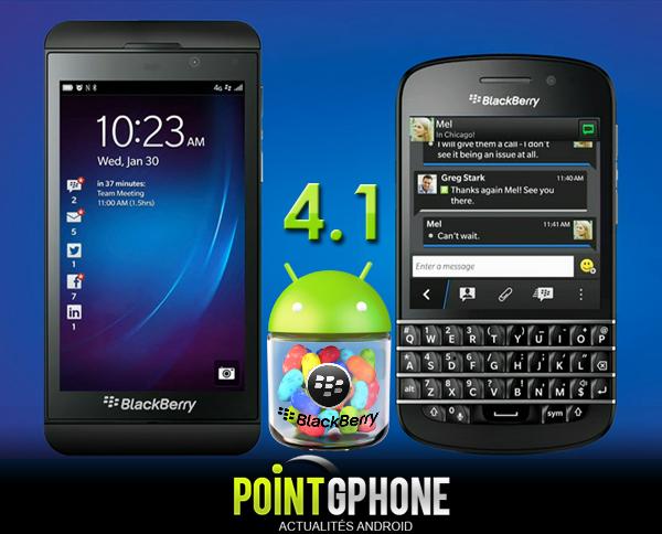 BlackBerry JellyBean