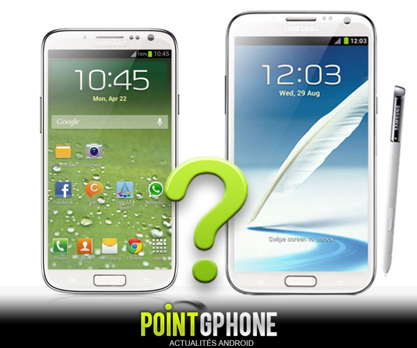Galaxy Note 2 & S 4