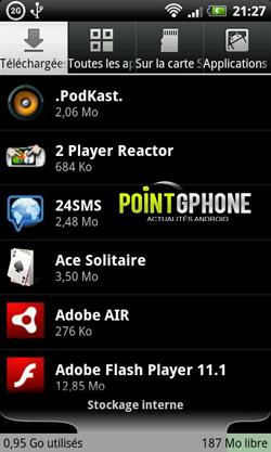 desinstaller application sur android 3