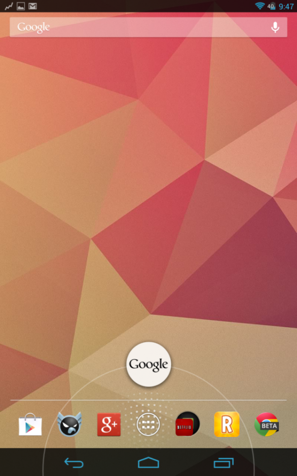 google now nexus