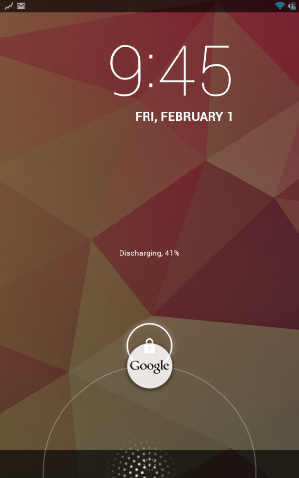 google now nexus2