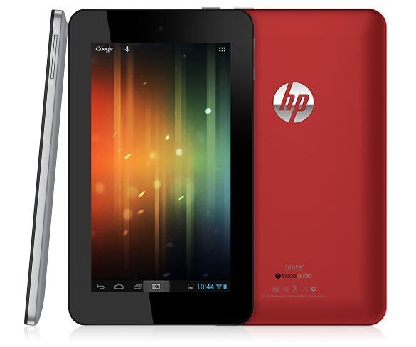 hp slate 7 tablette android