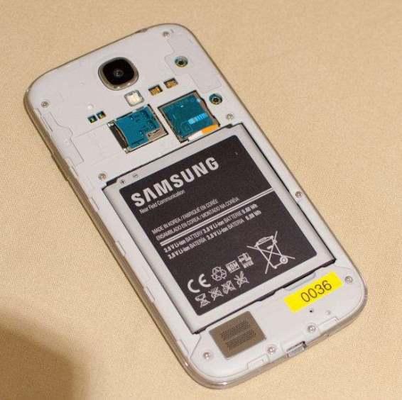 Galaxy S4 batterie