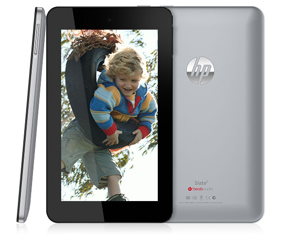 HP Slate 7 : tablette android