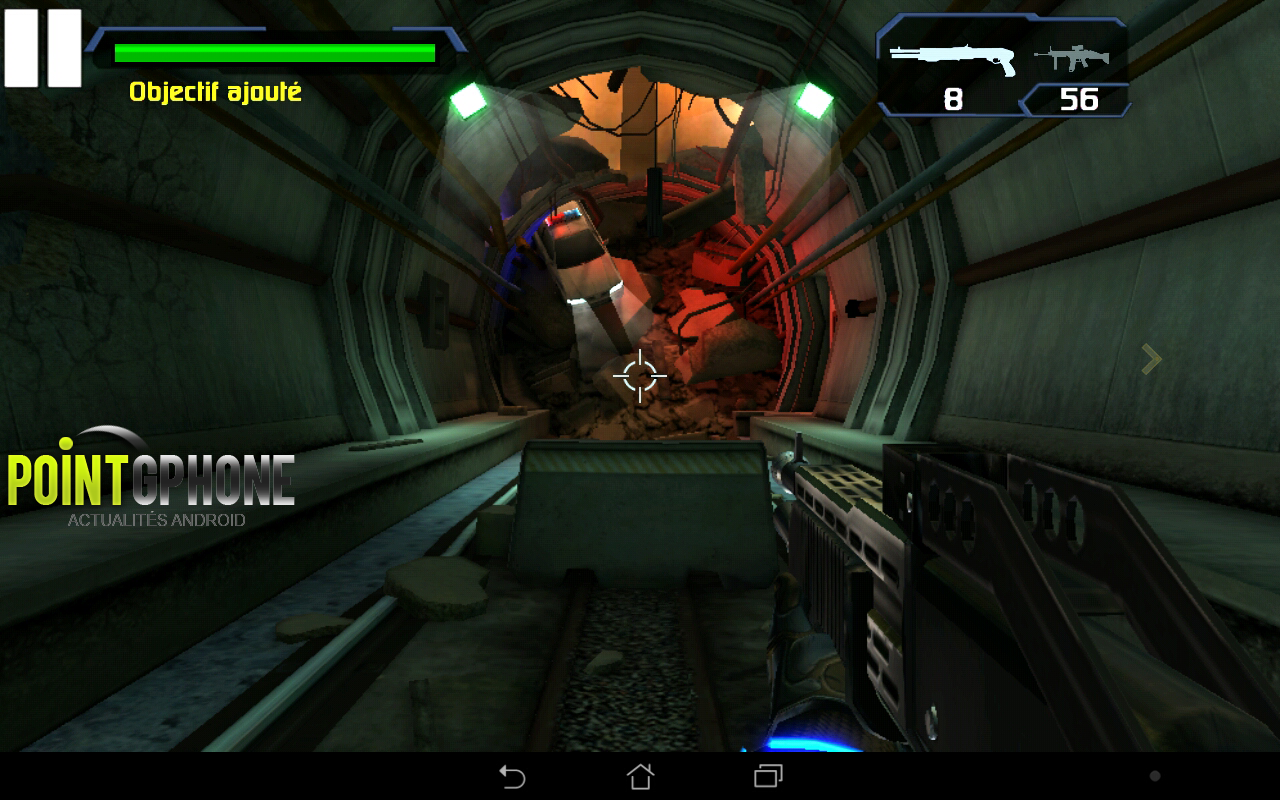 test jeu android the conduit HD 2