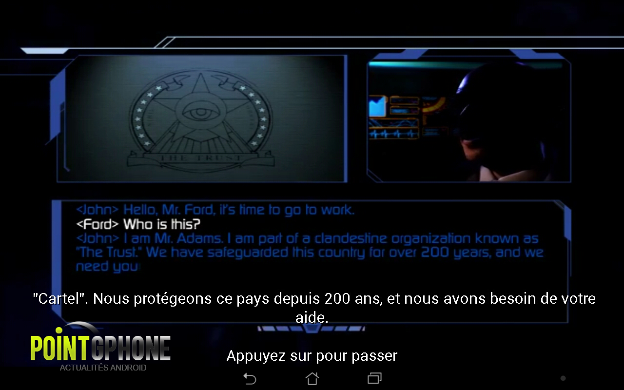 test jeu android the conduit HD 3