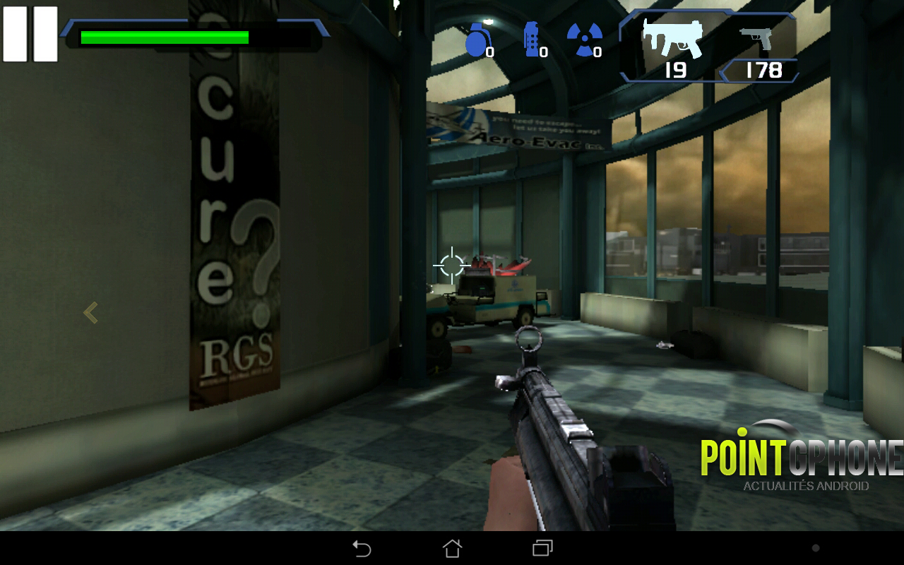 test jeu android the conduit HD 4
