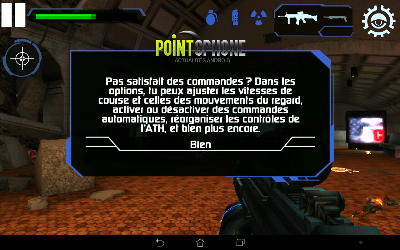 test jeu android the conduit HD 5