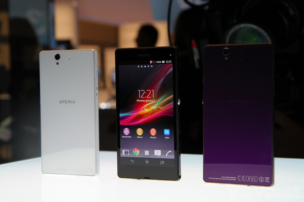 Sony Xperia Z vente