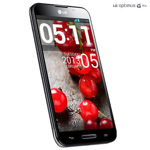 LG Optimus G pro noir 2