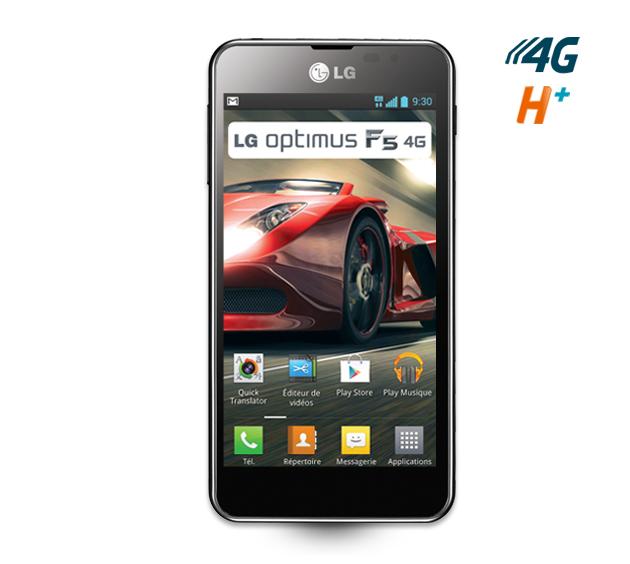 LG optimus F5 en noir