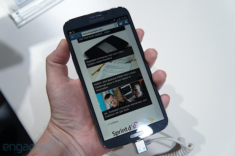 vidéo Galaxy Mega 6.3