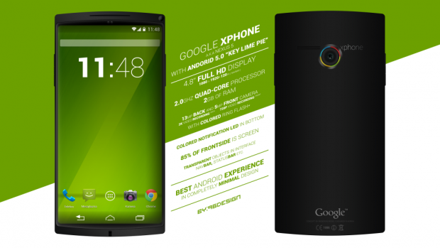 Google X Phone ou Nexus 5 rumeurs