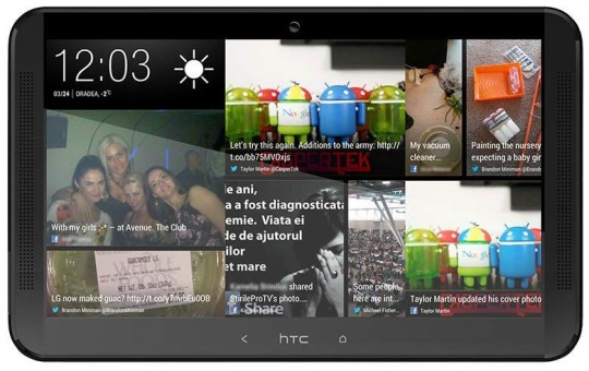 htc one tablette prototype