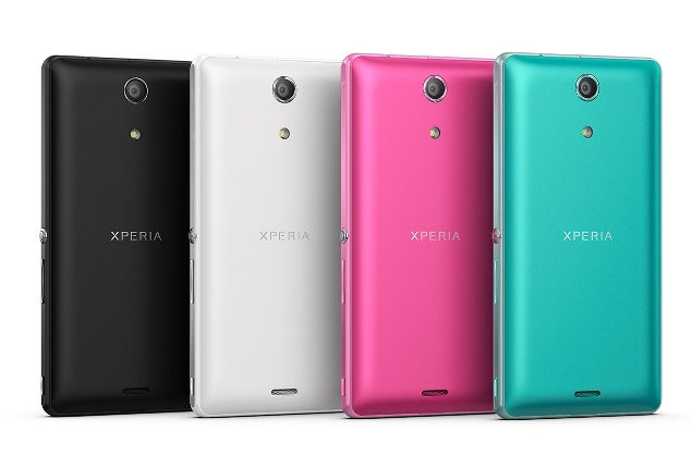 Sony Xperia ZR differentes couleurs