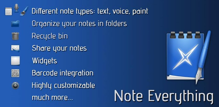 application android Note Everything