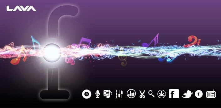 application audio Fusion Music Player