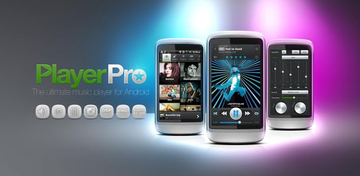 application audio PlayerPro Music Player