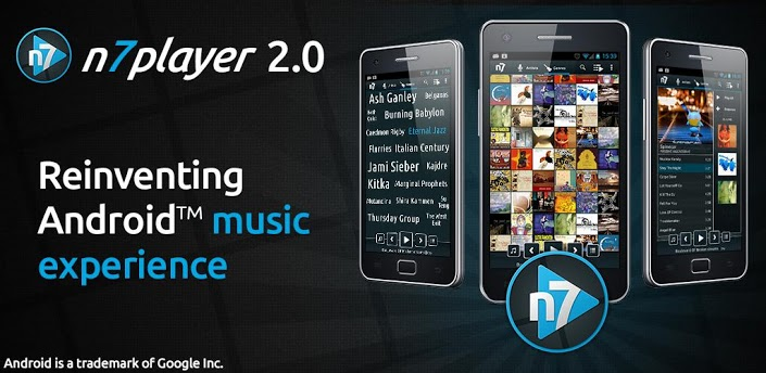 application audio n7player