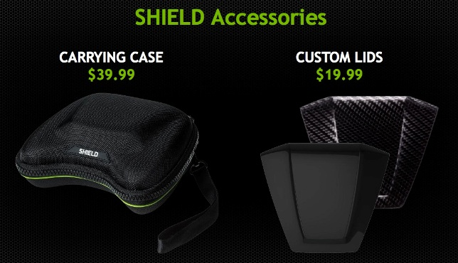 console android shield accessoires