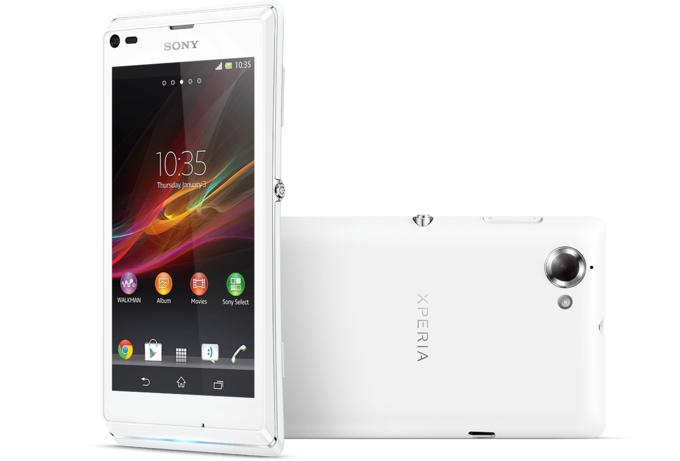 Prise en main du Sony Xperia L 270517