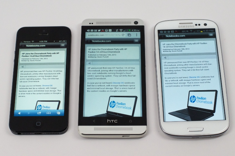 test htc one 6