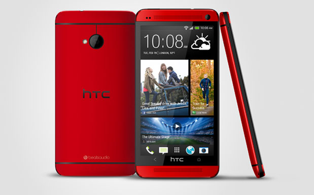 HTC One Rouge glamour 2706