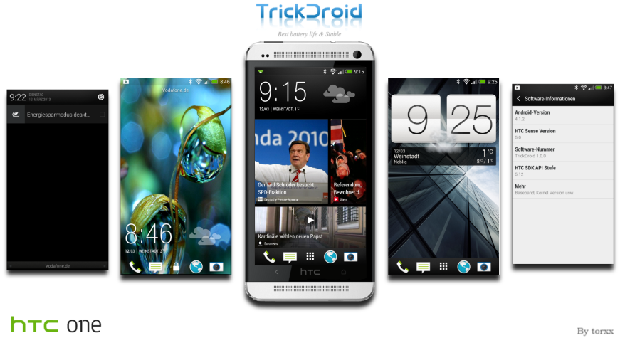 Trick droid htc one