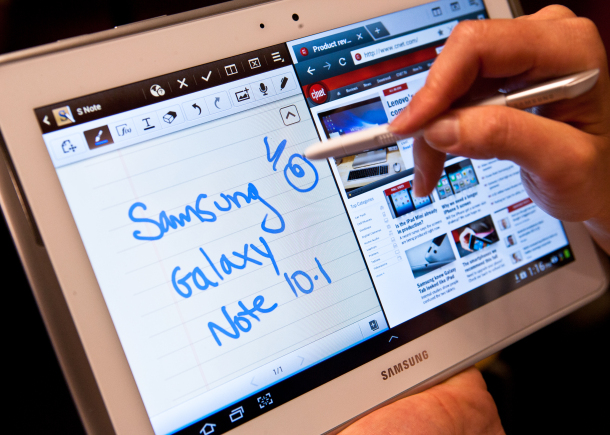 galaxy note 10.1 S note