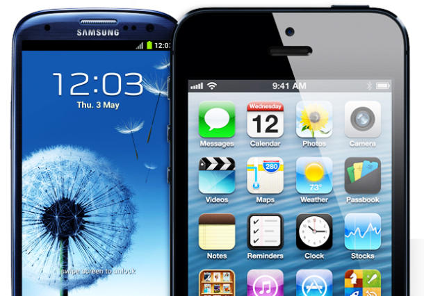 Galaxy S3 VS iPhone 5 31071
