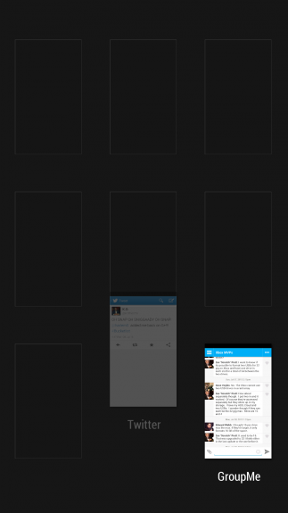 HTC One multitâche 110703