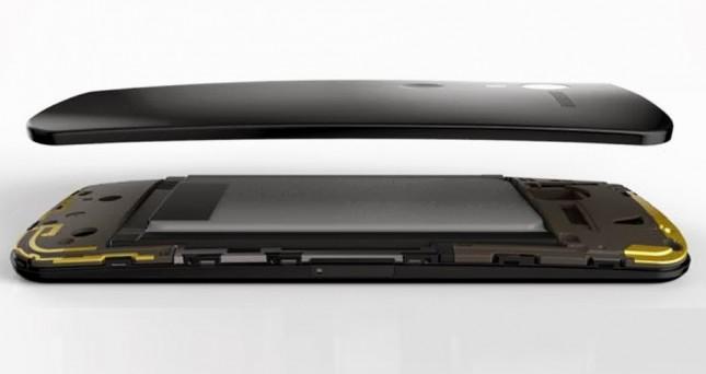 Moto X avec une double antenne
