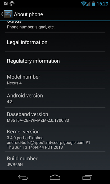 android 4.3 180701